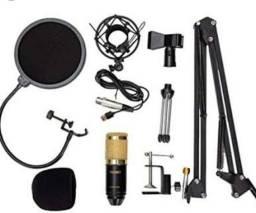 Microfone Studio Bm800 USB (kit completo)