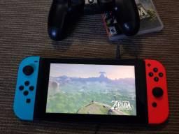 Nintendo switch neon e Zelda BotW
