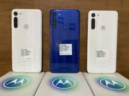 (PROMOÇÃO) (PREÇO A VISTA) Motorola Moto G8 Prisma,Capri 64gb