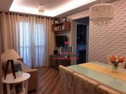 Apartamento com 2 dormitórios à venda, 54 m² por R$ 255.000,00 - Parque Industrial - São J