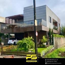 Casa com 4 dormitórios para alugar, 320 m² por R$ 9.000/mês - Amazônia Park - Cabedelo/PB