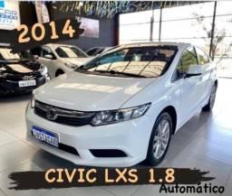 HONDA CIVIC LXS 1.8 FLEX AUTOMATICO 2014