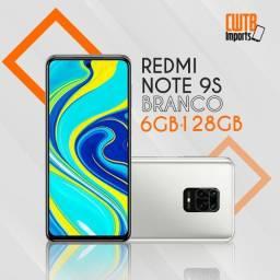 Smartphone Xiaomi Redmi Note 9S 6GB 128GB 48MP Branco- Novo Lacrado