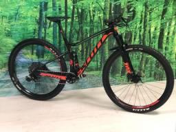 Bike Scott Spark quadro alumínio tam M com NF