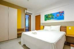 Vendo 01 cota de apartamento de 02 quartos mobiliado no olimpia park resort