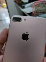 Iphone 7 Plus rose gold sem marcas 32gb