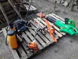 Maquinário para jardinagem