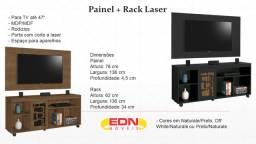 Painel + Rack Laser tv 46