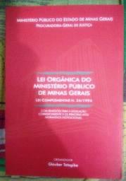 Lei orgânica do Ministério Público de Minas Gerais: lei complementar nº 34/1994