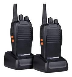 Kit 2 Radio Comunicador 777s Profissional 16 canais