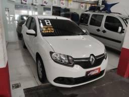 Carro logan 2018 completo com gnv