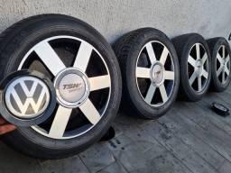 Rodas aro 15 - VW Volkswagen 4x100 e 4x108 (mod. Audi A3 Turbo) - Scorro S181 + Pneus