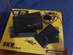 Título do anúncio: Lapela sem Fio VHF 755