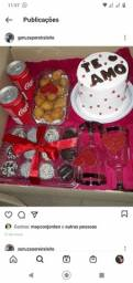 Festa na caixa e kit festa