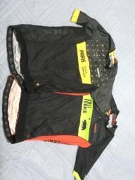 Camisas/ bretelle de ciclismo WOOM e SHIMANO originais