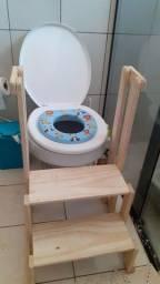 Escada para vaso sanitário