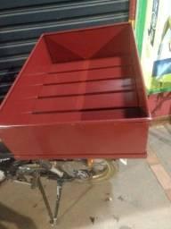 Caixa removível em ferro maciço