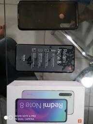 Xiaomi redmi note 8 seminovo aceito trocas com volta sua