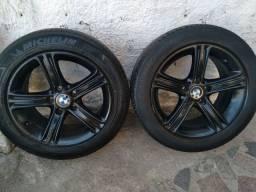 Torro jogo de rodas 17 bmw  320 com pneus 1600