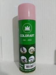 Tinta spray rosa