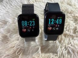 smartwatch X1 - recebe notificações, monitoramento exércio, batimentos cardíacos etc.