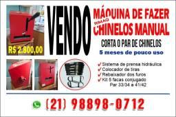 Título do anúncio: Máquina de fazer chinelos Manual