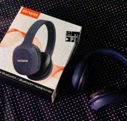 Fone Bluetooth Aiwa Azul Semi novo