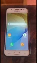 Samsung J5 prime trincado, funcionando perfeitamente