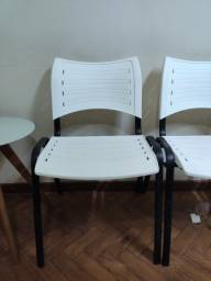 Conjunto com 3 Cadeiras para escritório