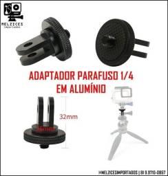 Adaptador Parafuso 1/4 em Alumínio