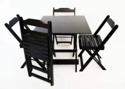 Jogo de Mesas com Cadeiras Pronta Entrega