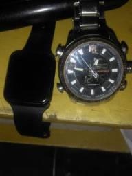 Vendo dois relojo todo bom