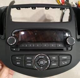 Título do anúncio: Rádio Original Chevrolet Tracker com moldura