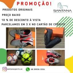 Promoção !!! Tênis, chuteira, bolas e Society.
