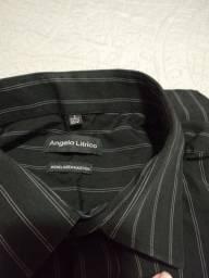 Camiseta Social masculina tam. 3, veste 40/41. Semi nova.