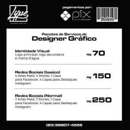 Designe gráfico (Promoção)