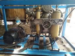 Compressor mergulho Bauer