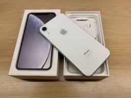 Título do anúncio: iPhone Xr 64gb Branco || Impecável || Loja Savassi