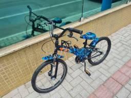 Título do anúncio: Vendo bicicleta Tito T20 camuflada