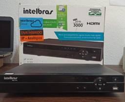 DVR Intelbras VD3104 - Desafio mais novo! Analógico + IP