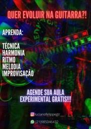 Título do anúncio: Aulas de guitarra e violão, com foco em Rock/Metal e suas vertentes