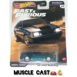 Título do anúncio: 92 For Mustang - Hot Wheels Premium Velozes e Furiosos Fast Stars