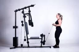 Estação de Musculação - 40 Exercícios - 12x Sem Juros - Loja Física
