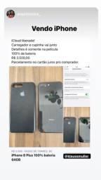 iPhone 8 Plus 64 GB, bateria 100%