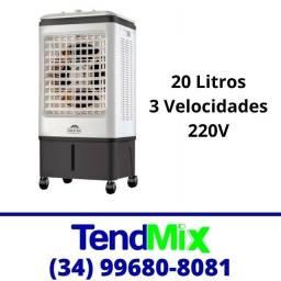 Título do anúncio: Climatizador Evaporativo de Ar 20 Litros 3 Velocidades 220v * Novo