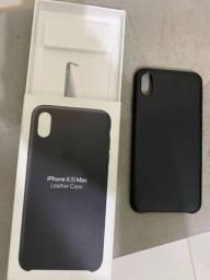 Case Apple original iPhone XS Max couro