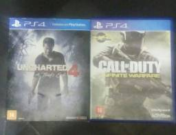 DOIS JOGOS DE PS4