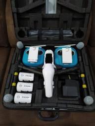 Drone Dji Aspire 1 - 2 controles + 3 baterias + Câmera + Case Original