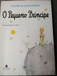 Livro: O Pequeno Príncipe. Com aquarelas do autor.