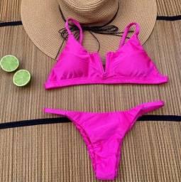 Biquíni rosa pink